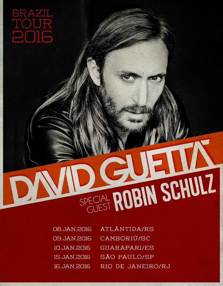 David Guetta e Robin Schulz no Brasil