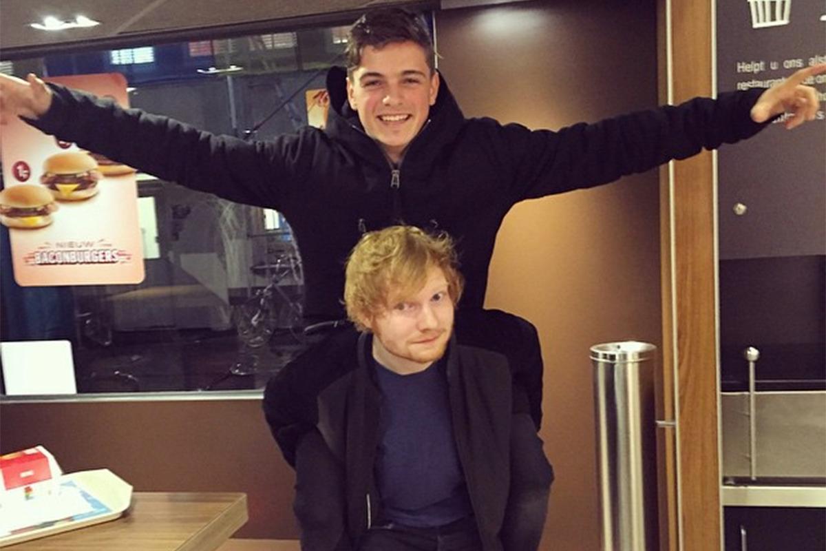 Fãs fazem petição para que Martin Garrix lançe collab com Ed Sheeran
