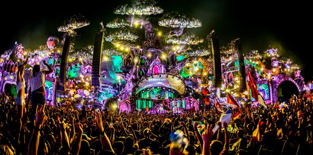 Excepcional Vazam fotos do Mainstage da Tomorrowland e já estão  QD27